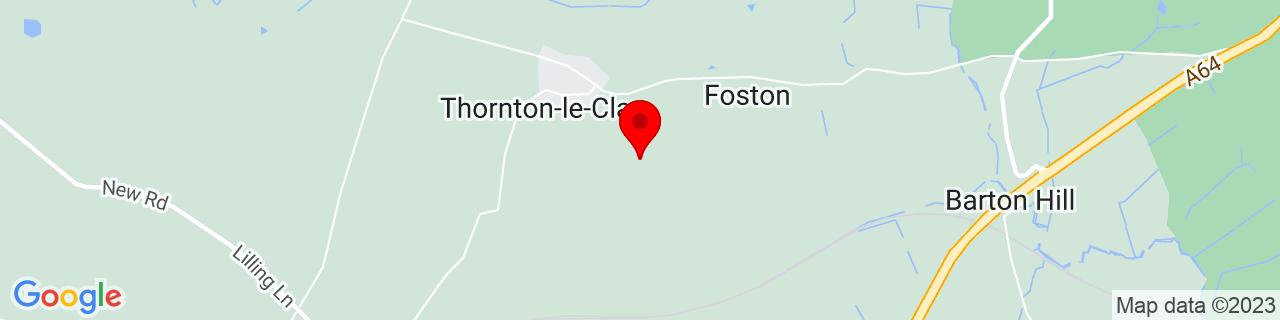 Google Map of 54.07361111111111, -0.9502777777777778