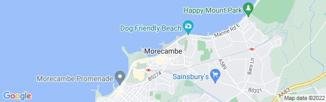 Map Of Morecambe