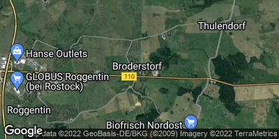 Google Map of Broderstorf