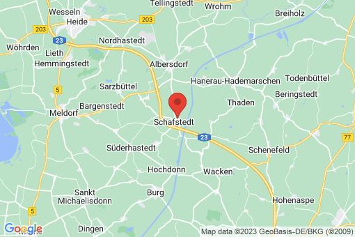 Karte Schafstedt