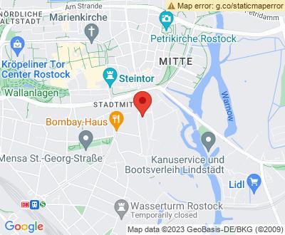 Anfahrt zu Alles Clean 24 Rostock - DE-RO