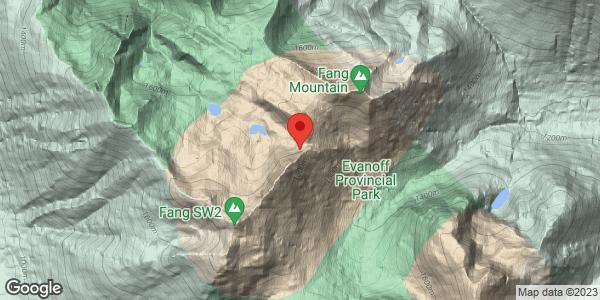 McGregor Range of Rockies