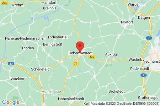 Karte Hohenwestedt