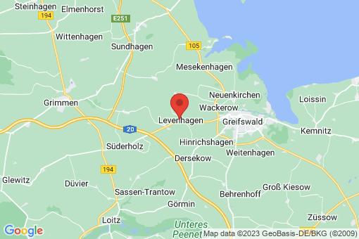 Karte Levenhagen