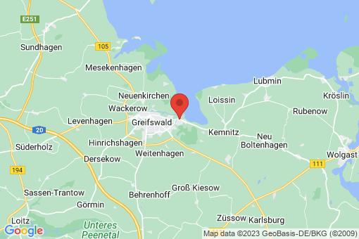 Karte Greifswald