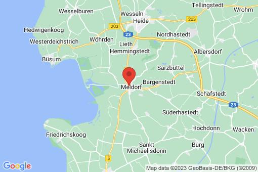 Karte Meldorf
