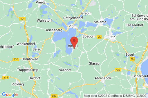 Karte Bosau