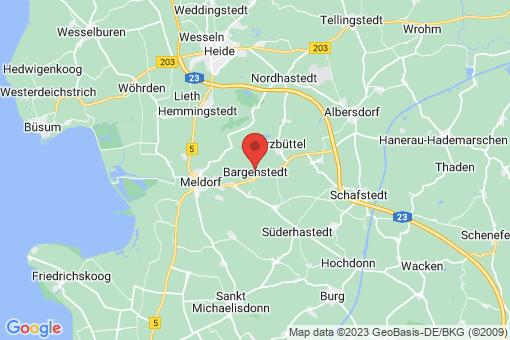 Karte Bargenstedt