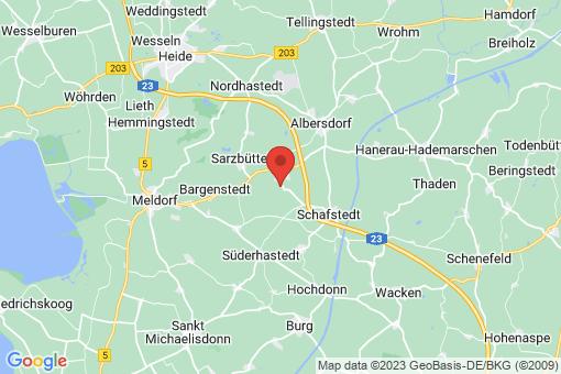 Karte Tensbüttel-Röst