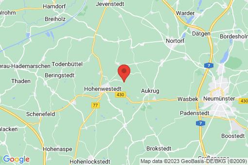 Karte Rade bei Hohenwestedt