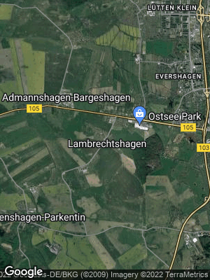 Google Map of Lambrechtshagen