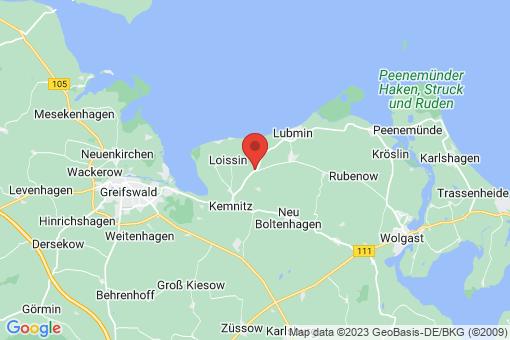 Karte Brünzow