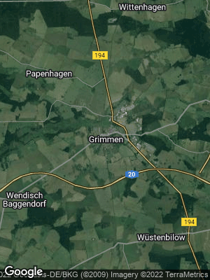 Google Map of Grimmen