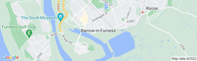 Map Of Barrow-in-Furness