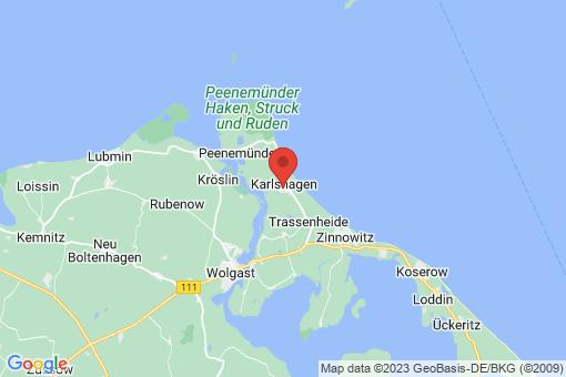 Karte Karlshagen