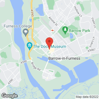 Map of wilko Barrow In Furness at 48/52 Duke Street, Barrow In Furness,  LA14 1RU