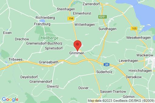 Karte Grimmen
