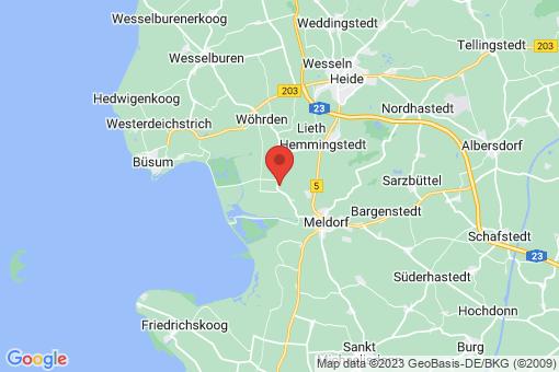 Karte Nordermeldorf