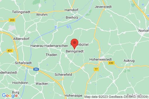 Karte Beringstedt
