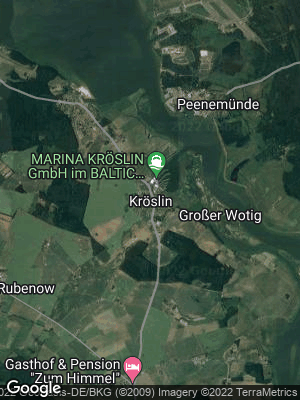 Google Map of Kröslin