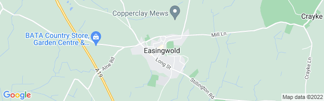Map Of Easingwold