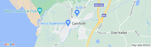 Map Of Carnforth