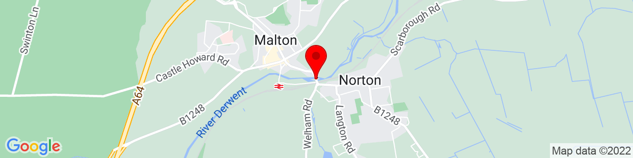 Google Map of 54.1328464, -0.7908976