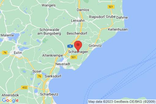 Karte Schashagen
