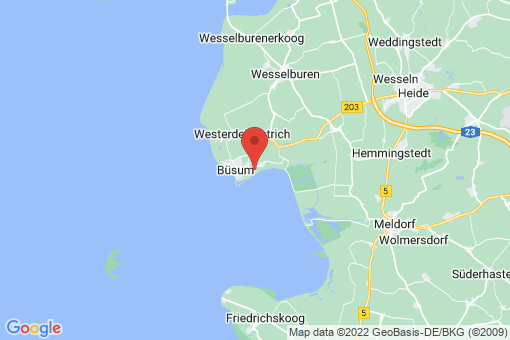 Karte Büsumer Deichhausen