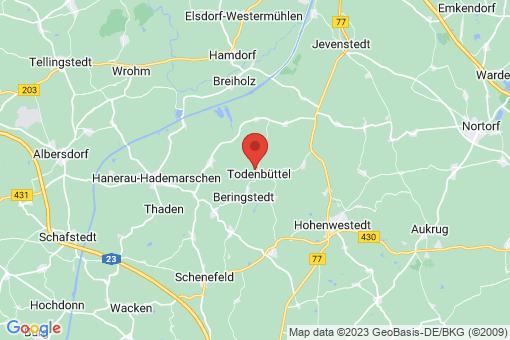 Karte Todenbüttel