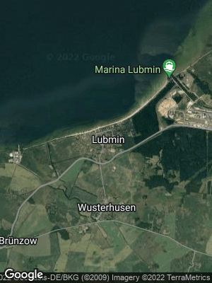 Google Map of Lubmin