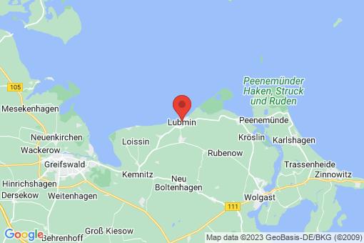 Karte Lubmin