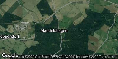 Google Map of Mandelshagen