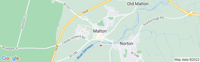Map Of Malton