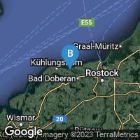 Lagekarte von Heiligendamm (Ostseebad)