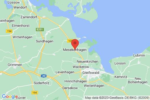 Karte Mesekenhagen