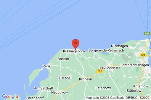 Karte Kühlungsborn