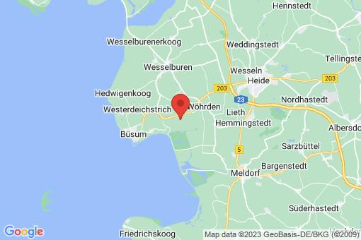 Karte Friedrichsgabekoog