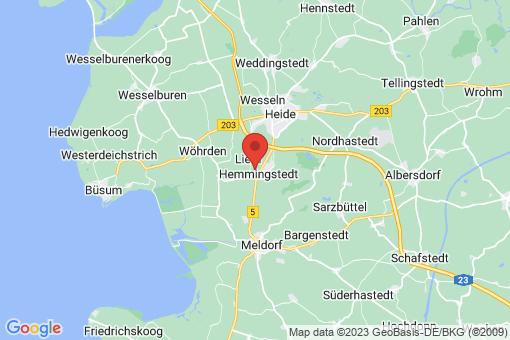 Karte Hemmingstedt