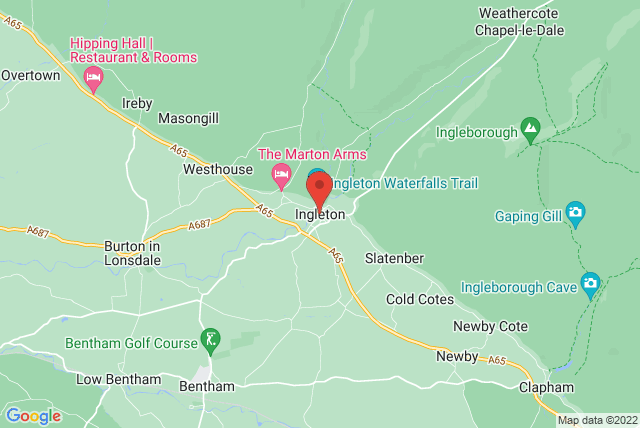 Yorkshire Dales Pilates Map