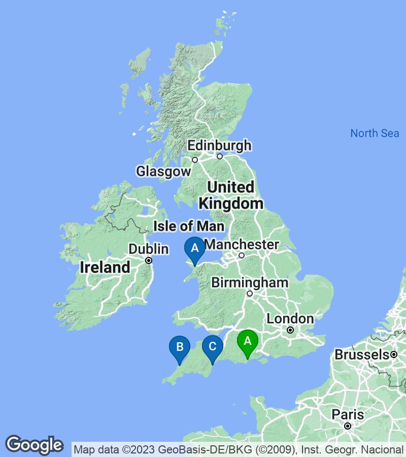 Google Map of 54.15821,-3.90756