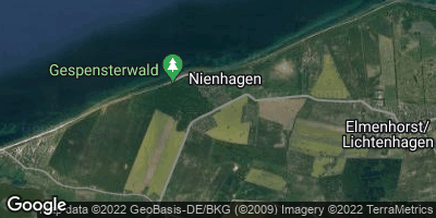 Google Map of Ostseebad Nienhagen