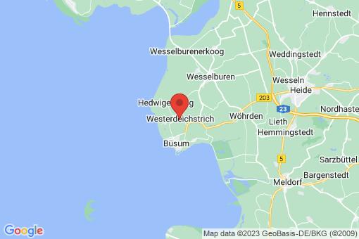 Karte Westerdeichstrich