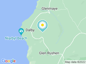 A static map of Dalby Mountain Fields (closed)