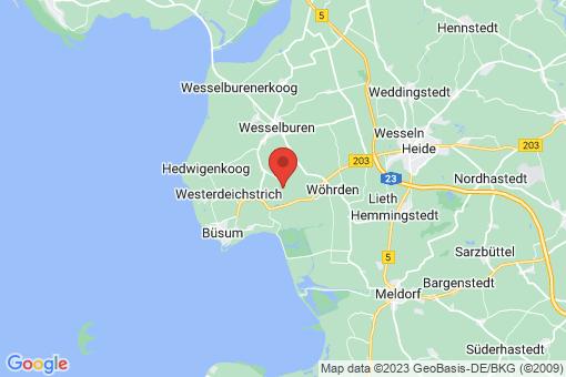 Karte Wesselburener-Deichhausen