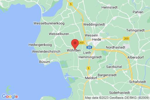 Karte Wöhrden
