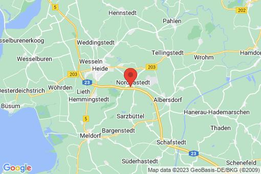 Karte Nordhastedt
