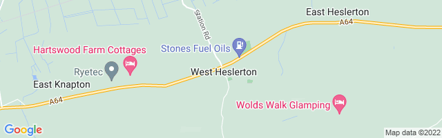 Map Of West Heslerton