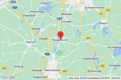 Karte Bordesholm