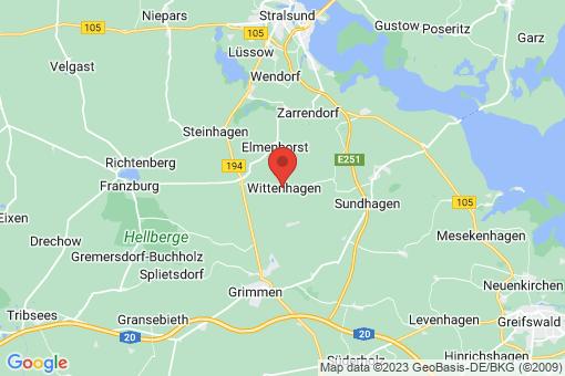 Karte Wittenhagen